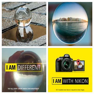 Spot cámara de fotos Nikon