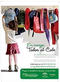 """Junta de Andalucía """"Escolarización"""""""