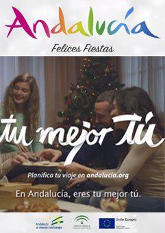 """Turismo Andalucía """"Tu mejor tú"""""""
